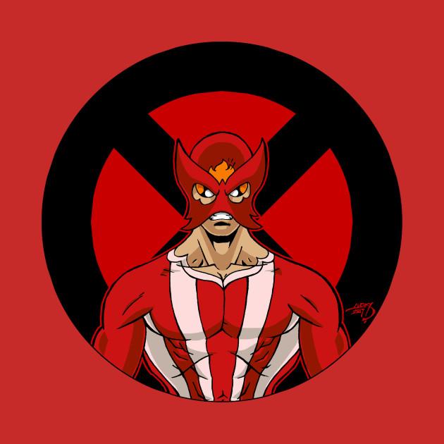 Sunfire 'X Series' X-Men Shirt Deadpool Wolverine Logan New Mutants X-Force Avengers Uncanny Marvel Comics