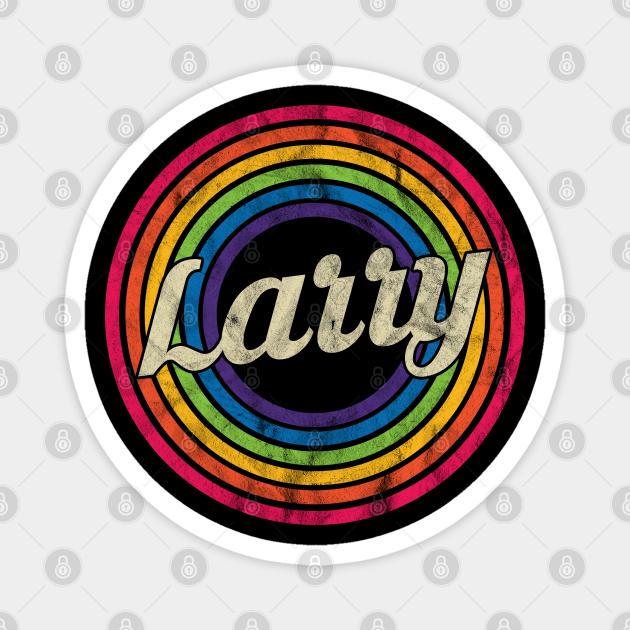 Larry - Retro Rainbow Faded-Style