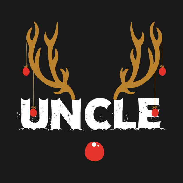 Uncle Christmas Reindeer Family Matching Shirt