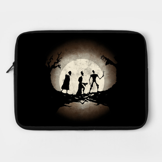 Tale Of Three Brothers Invisibility Cloak Laptop Case Teepublic