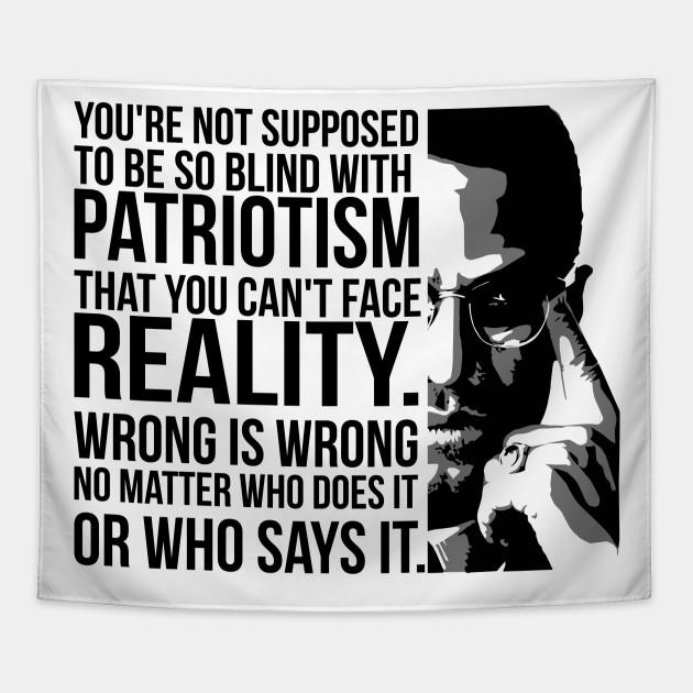Patriotism vs Reality