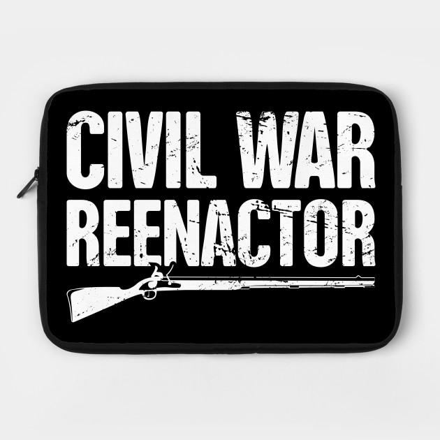 Historical American Civil War Reenactor Flintlock
