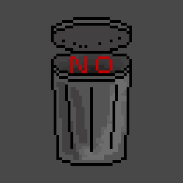 No trash talk pixel