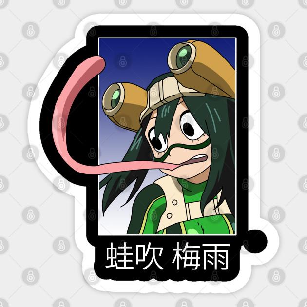 MHA BNHA My Hero Academia Tsuyu Asui Froppy Art Print