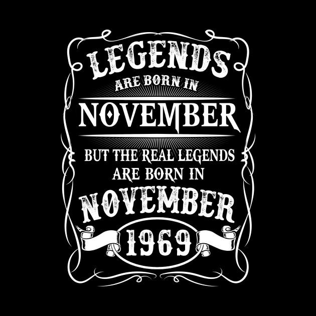 Legends are Born in November 1960