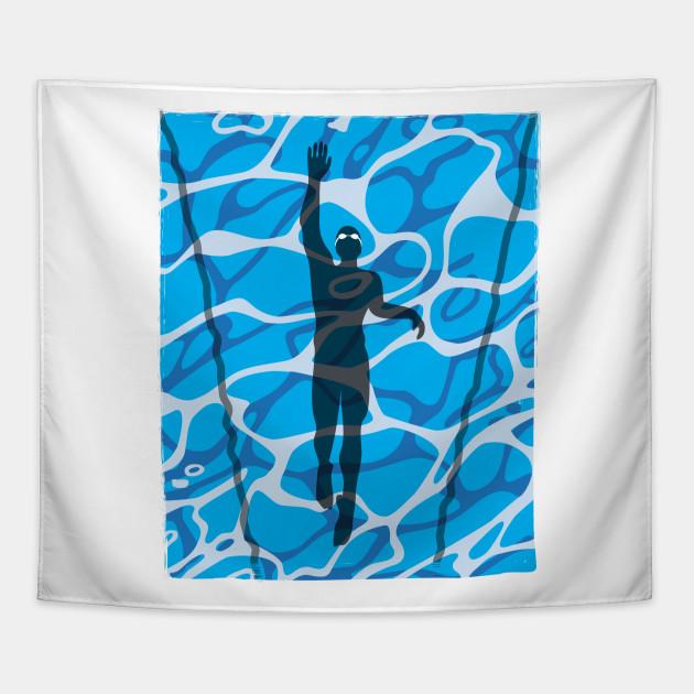 Swim Pool Lap Swimmer Strokin