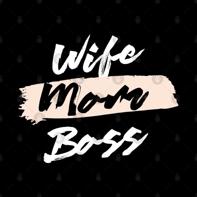 Cute Wife Mom Boss Gift Idea