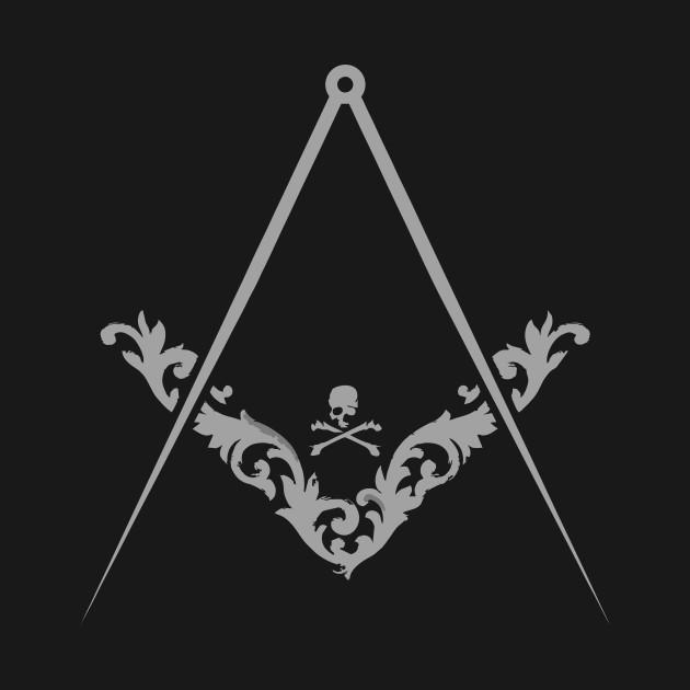Masonic Square and Compass Freemason Symbol