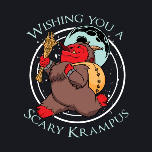 Scary Krampus Christmas Halloween Horror Holiday