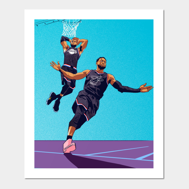 b52a492c The Last Lob: Wade to LeBron - Dwayne Wade - Posters and Art Prints ...