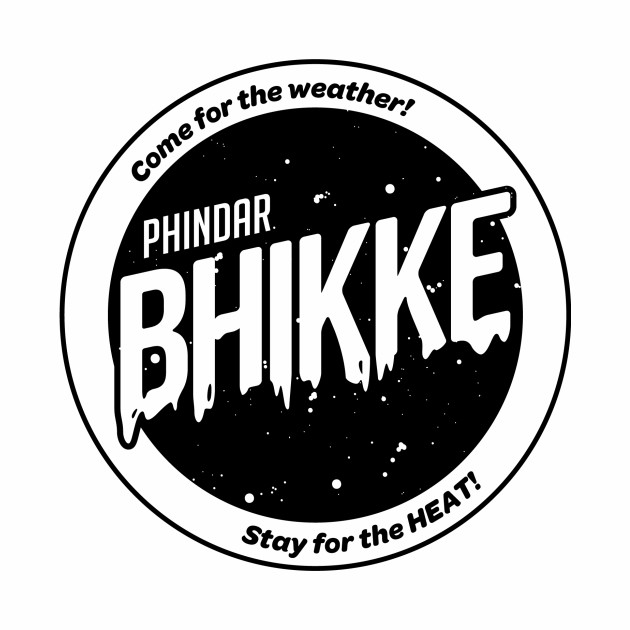 B.H.I.K.K.E. Phindar Black T-Shirt