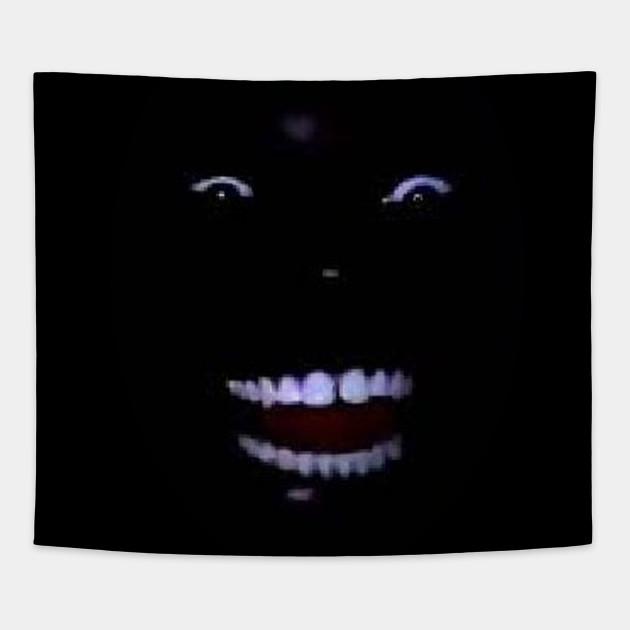 Black Man Laughing In The Dark