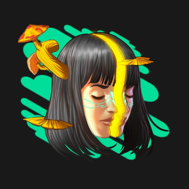 Mushroom girl 1