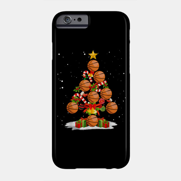 Christmas Pajama Basketball Christmas Tree Xmas Gift Phone Case