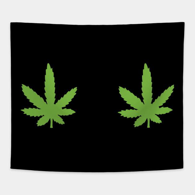 85b2ea30f254f Pot Leaf Boobs