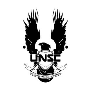 UNSC LOGO HALO 4 - CLEAN LOGO IN BLACK