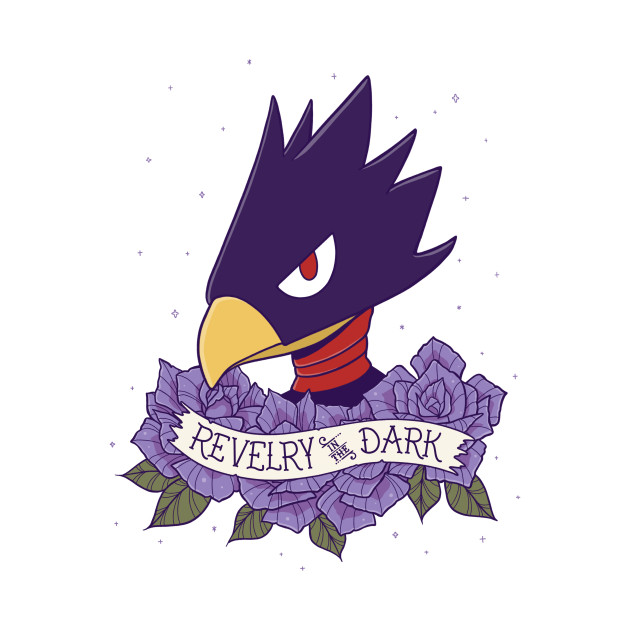 Tokoyami Revelry in the Dark Tattoo