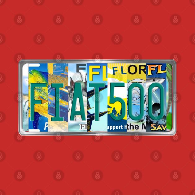 FIAT500 FL PLate