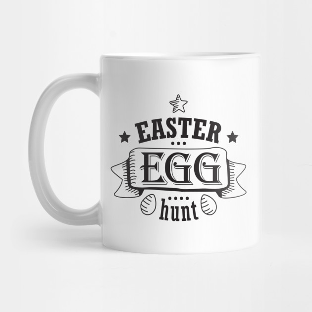 Easter Egg Hunt Black Design Ideas Creative and Unique Style For Everyone  by dimdom