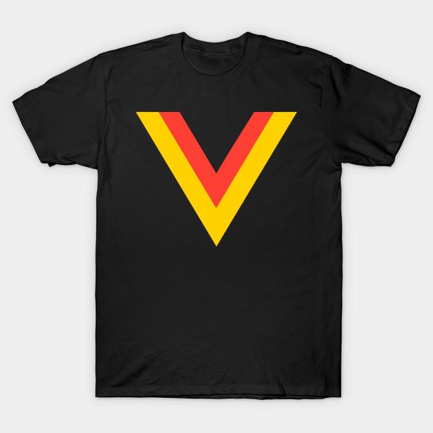 685c8f339 Vancouver Canucks Flying V - Vancouver - T-Shirt