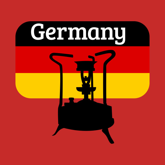 Pressure Stove with German Flag