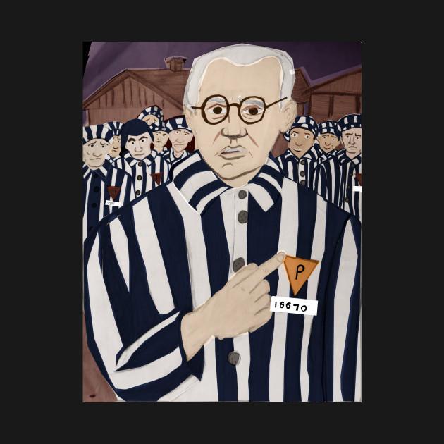b33500ae Saint Maximilian Kolbe - Saint - T-Shirt | TeePublic