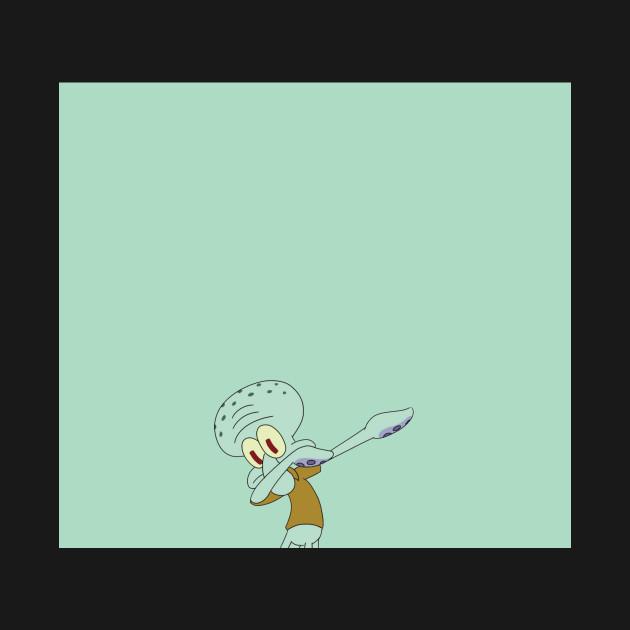 Squidward Dab Squidward Dab Kids Hoodie Teepublic