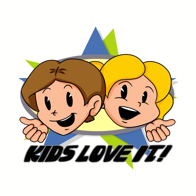 "Toonami ""KIDS LOVE IT"" logo"