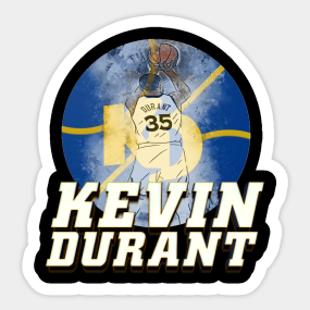 Brooklyn Nets Kevin Durant Independence Day #35 Golden