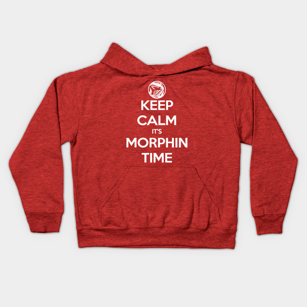 Keep Calm It's Morphin Time (Red)