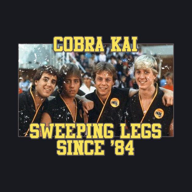 Cobra Kai Vintage Team
