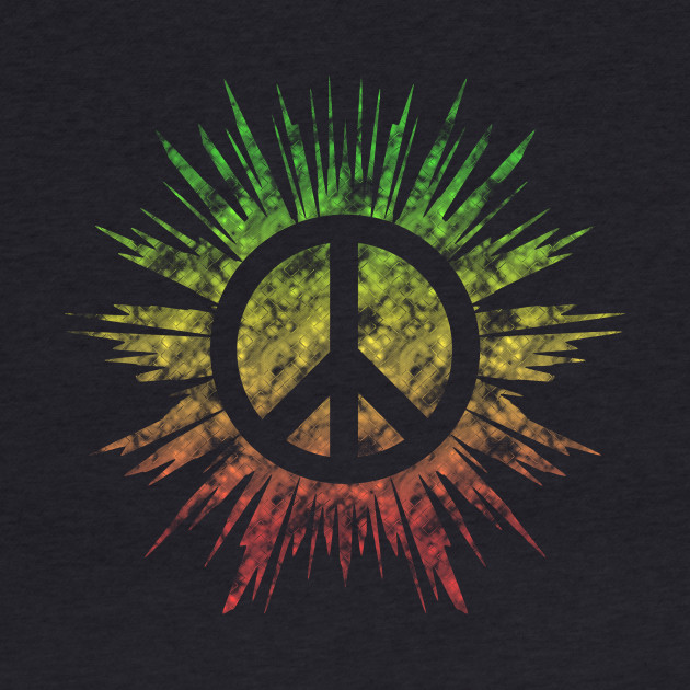 Rasta Peace Sign