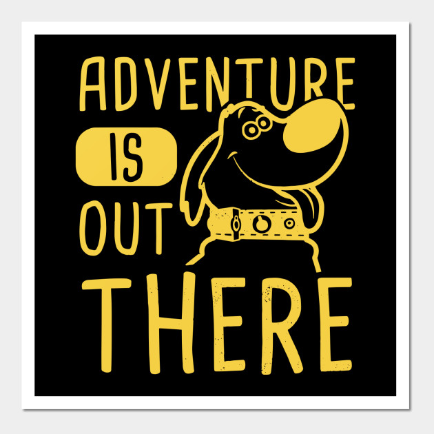 Disney Pixar Adventure Is Out There Dog Graphic t shirt - Adventure ...