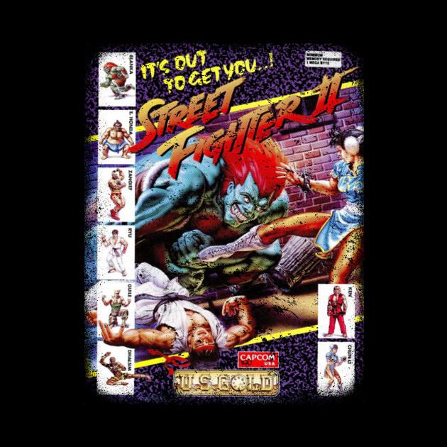 Street fighter 2 blanka