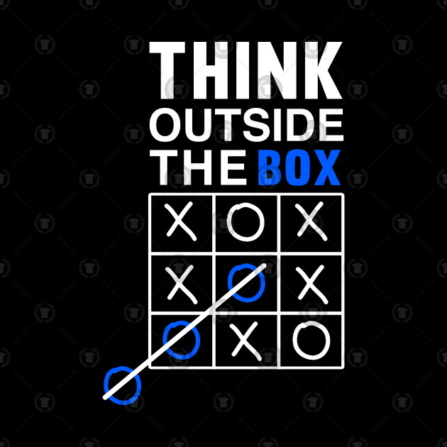 Thinking Outside the Box T shirt