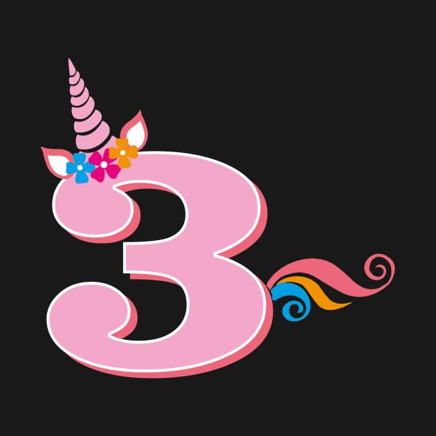 3rd Birthday Unicorn