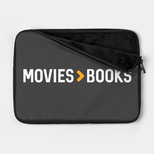 Movies > Books