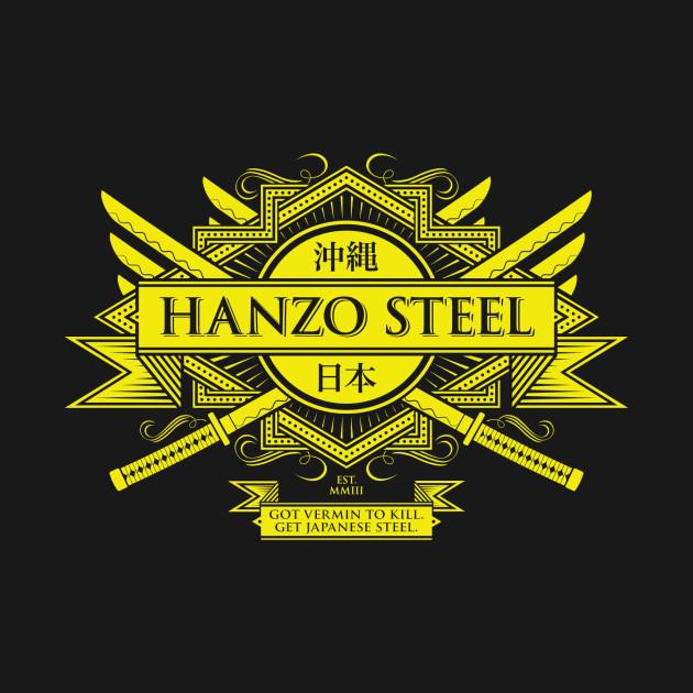 Hanzo Steel T-Shirt thumbnail