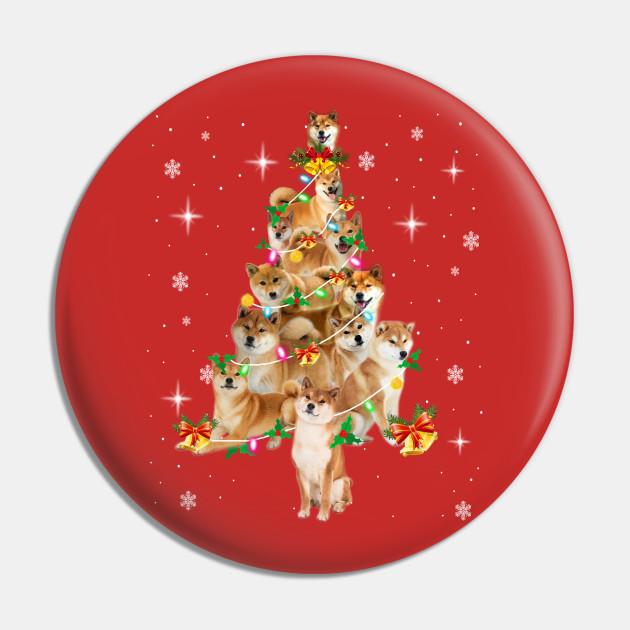 Gift Of Christmas.Shiba Inu Tree Merry Christmas Gift