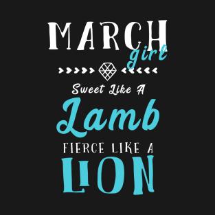 7f5e89f0 Born In March T-Shirts | TeePublic