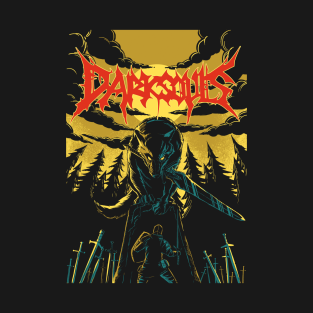 Unofficial Dark Souls Metal Band Tee t-shirts