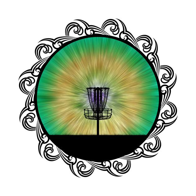 Disc Golfing Basket