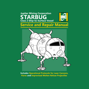 Starbug Service and Repair Manual t-shirts