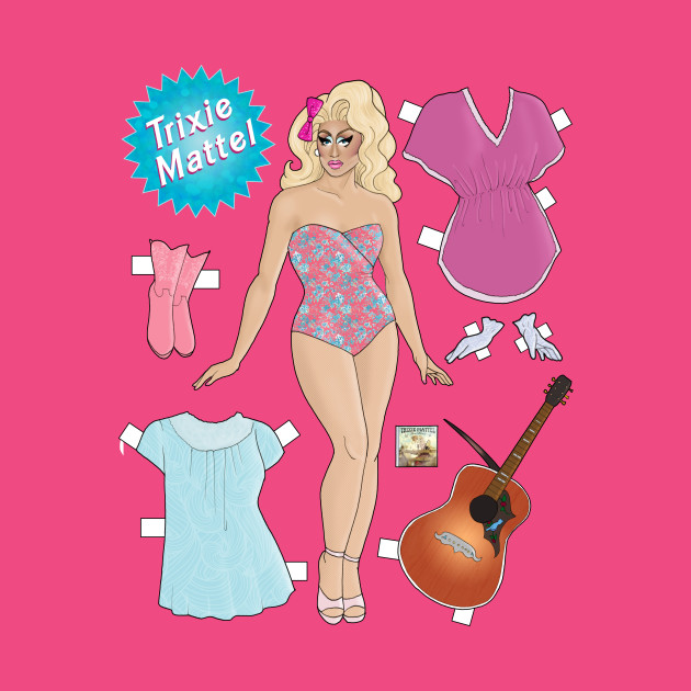 Trixie Mattel Paper Doll