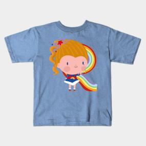 2dc378df Rainbow Brite Kids T-Shirts | TeePublic