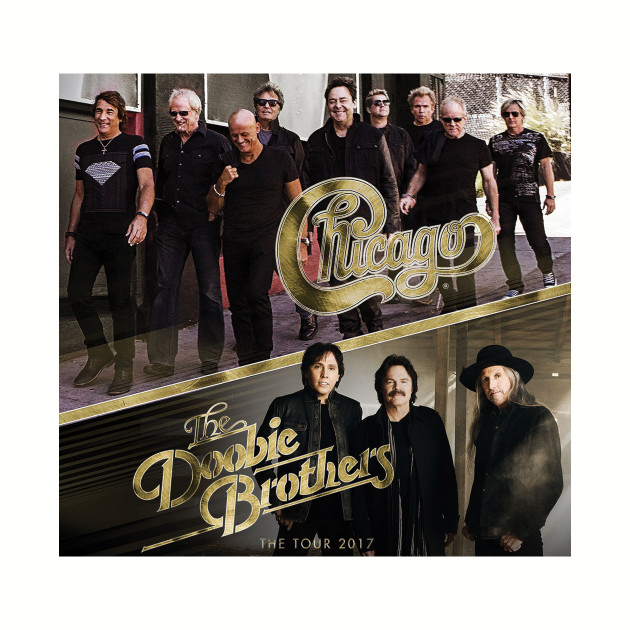 CHICAGO AND THE DOOBIE BROTHERS TOUR 2017
