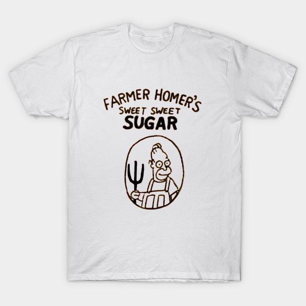 Farmer Homer's Sweet Sweet Sugar T-Shirt-TOZ