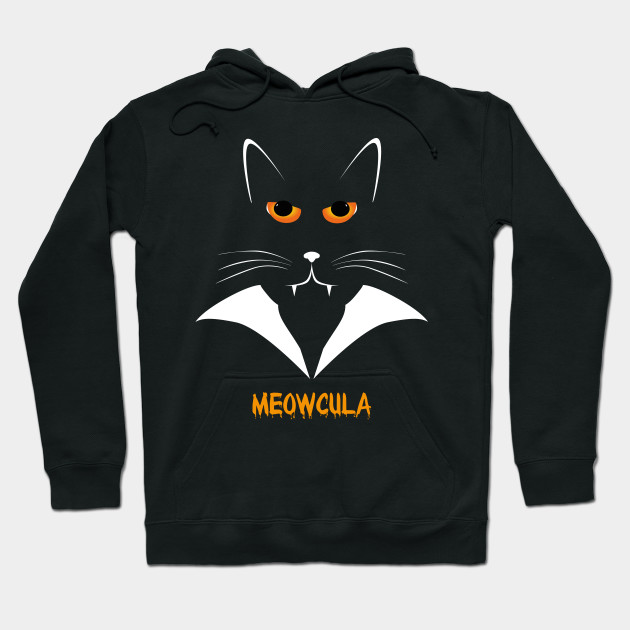 0ffcf77cc Meowcula Funny Cat Vampire Dracula Halloween Tee Shirt gift ...