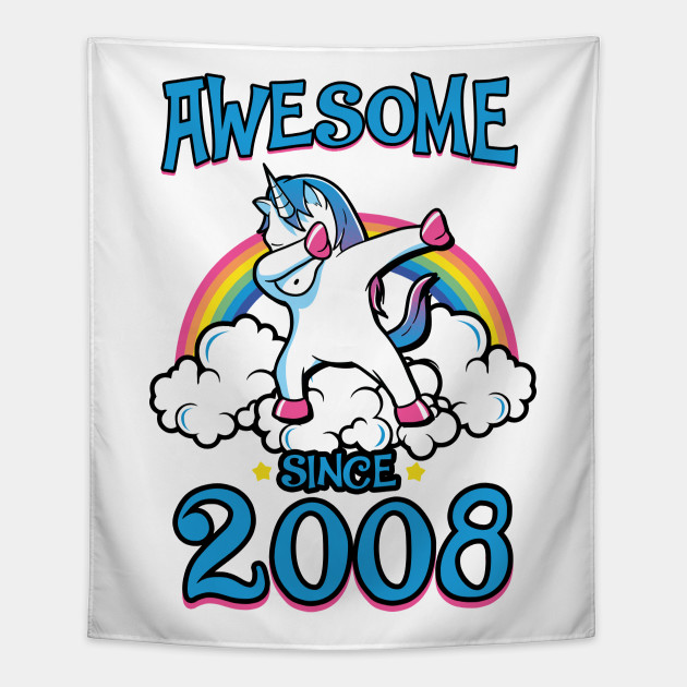 Awesome Since 2008 Tapestry