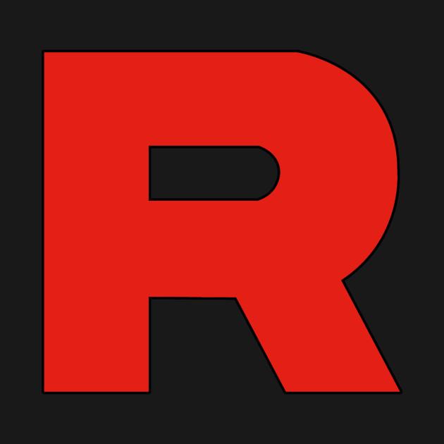 team rocket logo team rocket t shirt teepublic